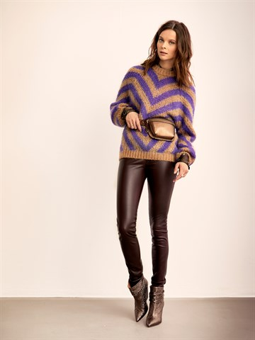 DANTE6 - 194409 - EVIE SWEATER - TOFFEE