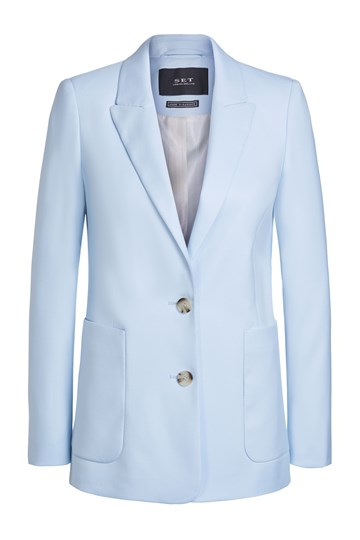 SET - 65448 - BLAZER - BABY BLUE