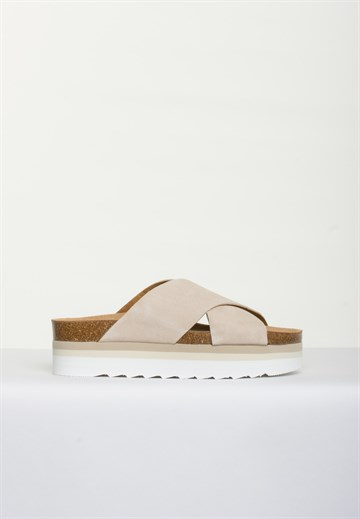 BLUE ON BLUE - DEBB - SAND - SANDAL