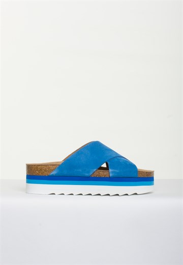 BLUE ON BLUE - DEBB - COBALT BLUE - SANDAL