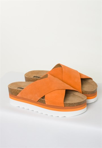 BLUE ON BLUE - DEBB - ORANGE - SANDAL