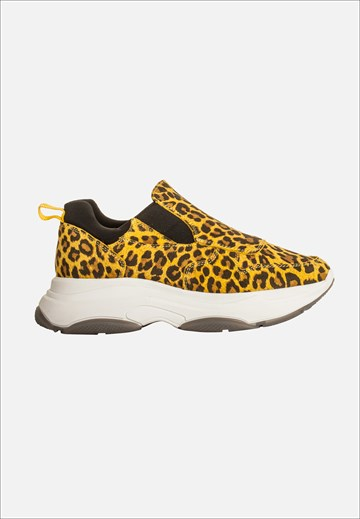 BLUE ON BLUE - BOOM - LEOPARD YELLOW