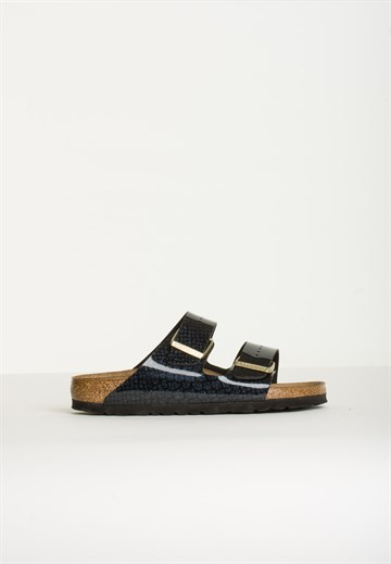 BIRKENSTOCK - 1009125 - ARIZONA - SNAKE BLACK
