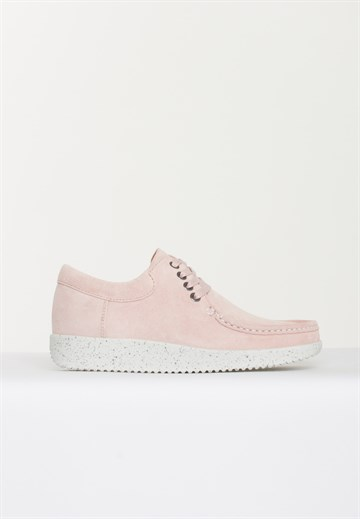 NATURE  - ANNA - SUEDE BABY PINK