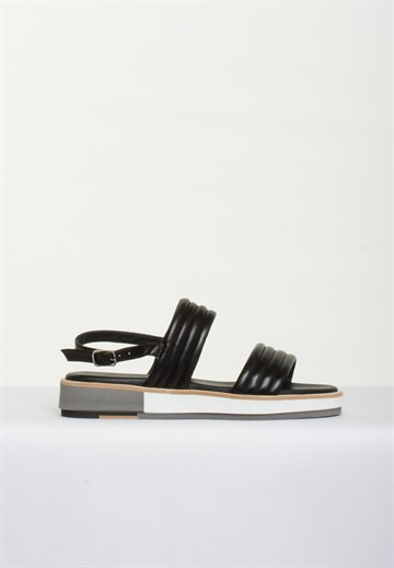 POMME D'OR - 1801 - BLACK SANDAL