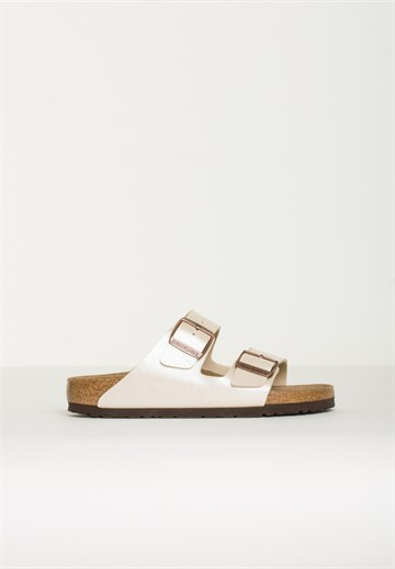 BIRKENSTOCK -  ARIZONA - GRACEFUL PEARL WHITE