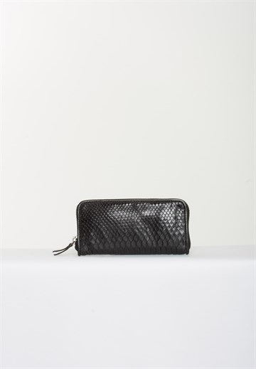 REPTILE HOUSE - 00002 - WALLET BLACK PYTHON