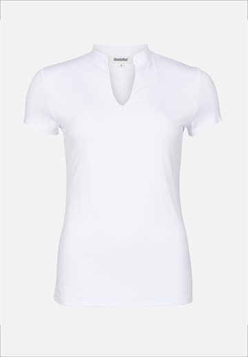 BLUE ON BLUE - SILJE - T-SHIRT - WHITE
