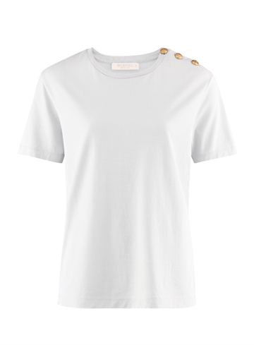 BUSNEL - TOULON - T-SHIRT - CLEAR WHITE