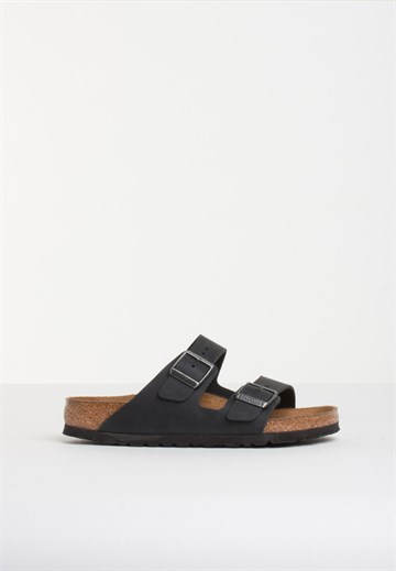 Birkenstock - Arizona - Oiled Black - Soft