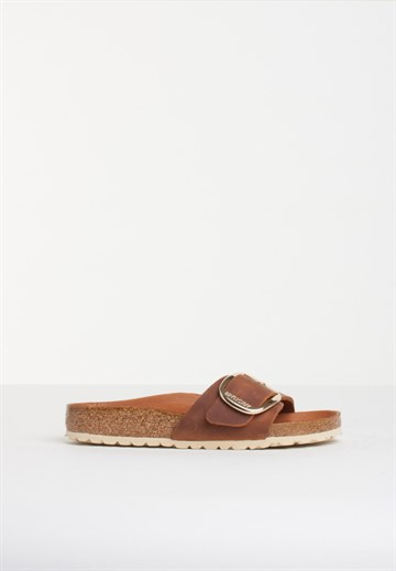 Birkenstock - Madrid - Big Buckle - Cognac