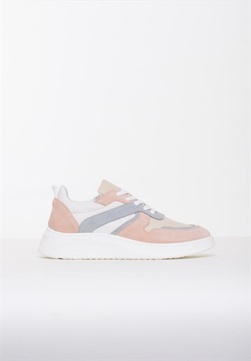 BLUE ON BLUE - PLUMO - SNEAKERS - GREY/ROSE