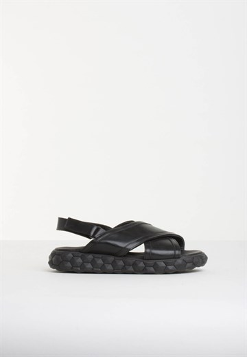 BLUE ON BLUE - FANTOM - SANDAL - BLACK