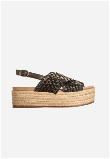 BUKELA - KS19110 - SANDAL - BLACK