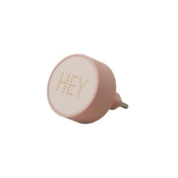 DESIGN LETTERS - PERLE CHARGER - NUDE