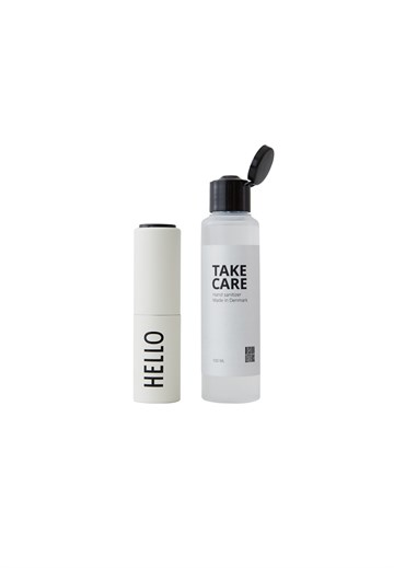 Design Letters - Take Care Hand Sanitizer - Hello