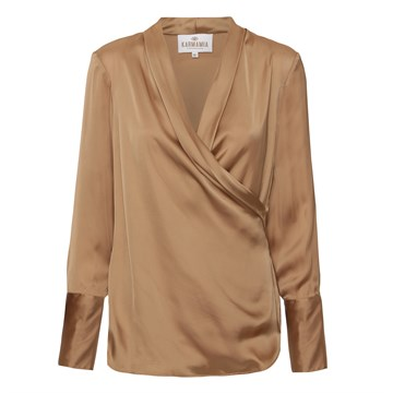 KARMAMIA - BILLIE SHIRT - GOLDEN CAMEL