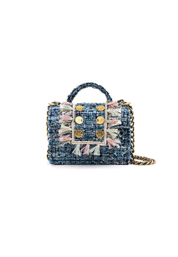Kooreloo - Tweed Petite - Candy Blue