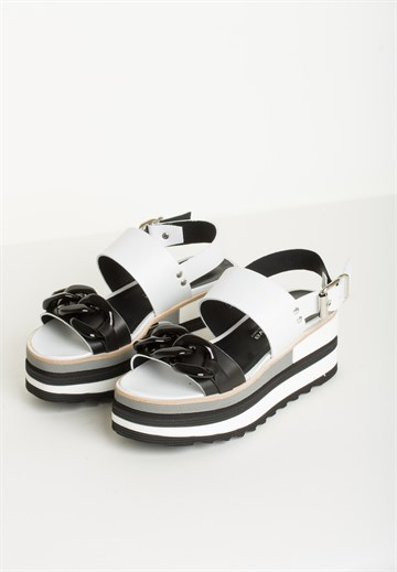 LAURA BELLARIVA - 3261 - BLACK/WHITE