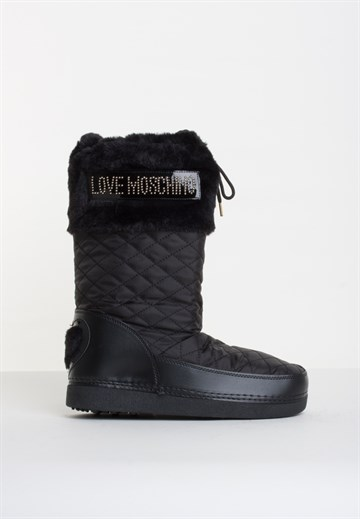 LOVE MOSCHINO - JA24192 - MOON BOOTS - BLACK