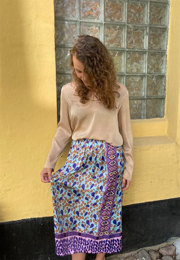 ME369 - 60300 - LAYLA SKIRT - PURPLE
