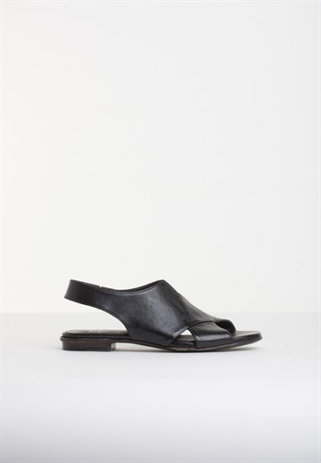 OPEN CLOSED SHOES - LUNA06 - BLACK