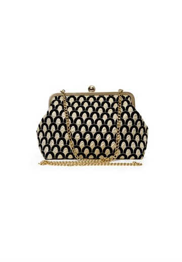 Sonja Love - Shoulder bag/clutch - Black/Gold