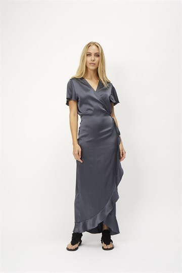 WARDROBE CPH - INDRA DRESS - ANTHRACITE